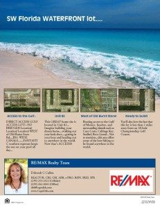 access to the Gulf of Mexico…..Direct Access….$99,900