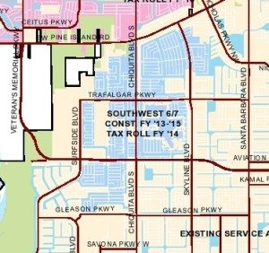 Cape Coral Utility Expansion Project costs…