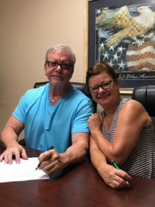 Cape Coral Realtor - Deb Cullen helps Gary
