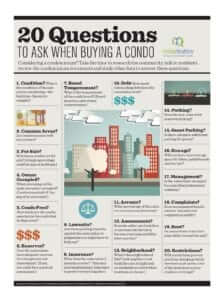 qusetions to ask when buying a condo